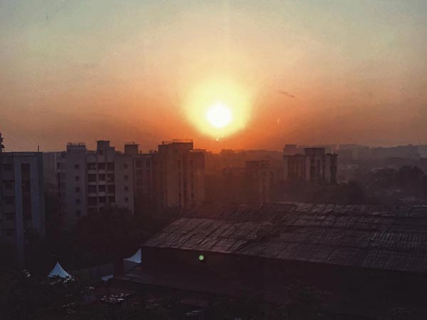 Sunrise In Mumbai