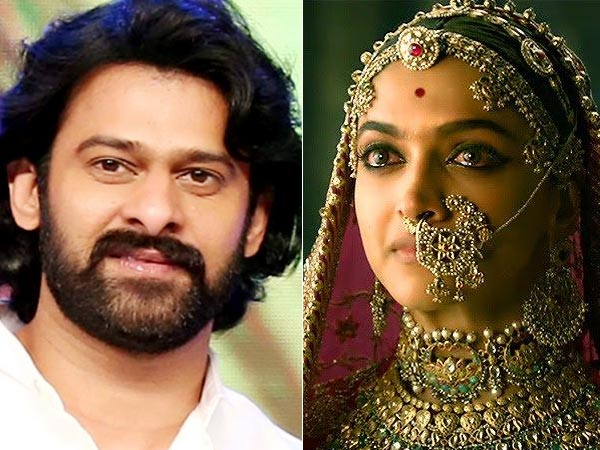 REALLY SHOCKING! Prabhas Almost Got Involved In PADMAVATI CONTROVERSY But This Person Saved Him