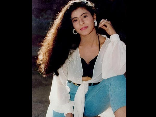 Kajol Throwback Picture Of Her First Car In The 90s. - Filmibeat