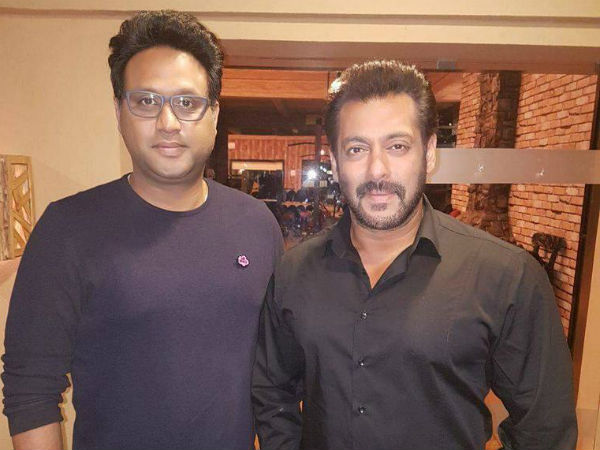 Rajiv Dhingra With Salman Khan