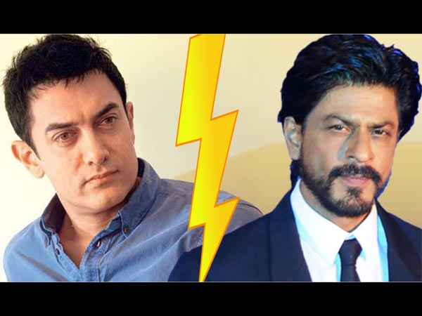SHOCKING CONTROVERSY! When Aamir Khan Took A Dig At SRK & Wrote Shahrukh Is LICKING My Feet