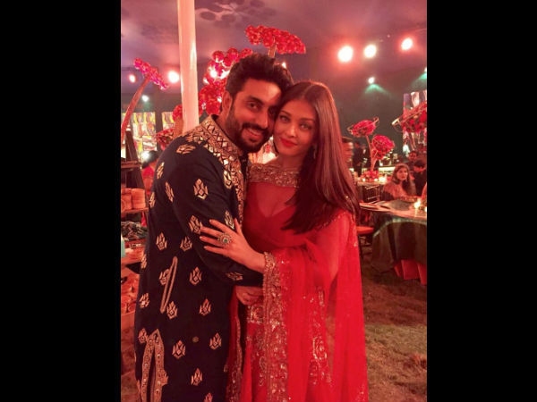 Bachchan family dazzles in their traditional best at a family wedding