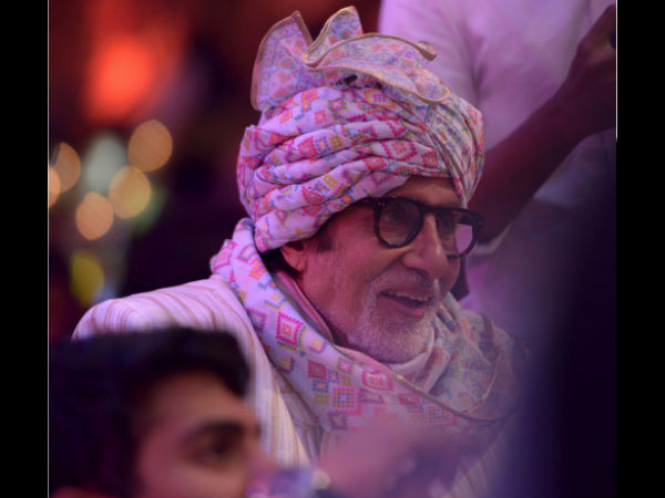 Big B On Welcoming The Bride