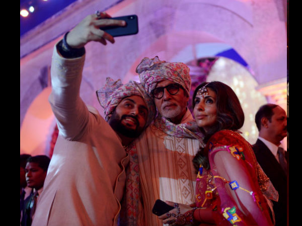 Some More Pics Of The Bachchans From The Wedding