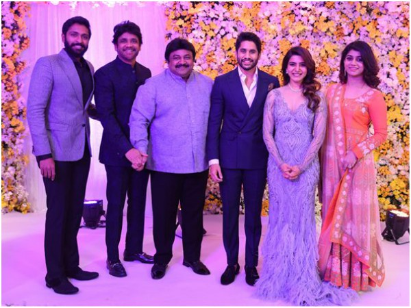 IN PICS! Naga Chaitanya-Samantha Reception Turns Out To Be A Star-Studded One!
