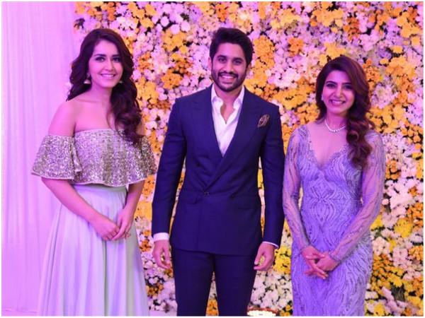 Raashi Khanna With The Couple..