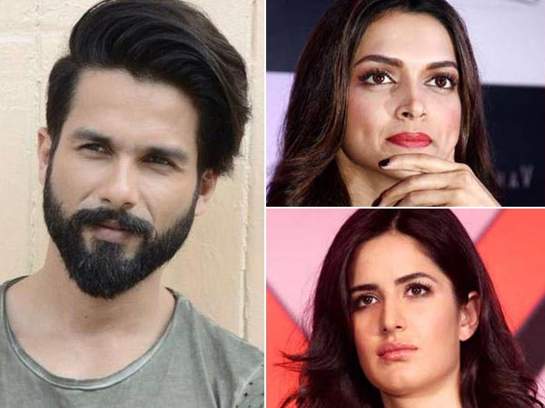 INSECURITIES! Shahid Kapoor Does Not Want To Work With Katrina Kaif; Is Deepika Padukone The Reason?
