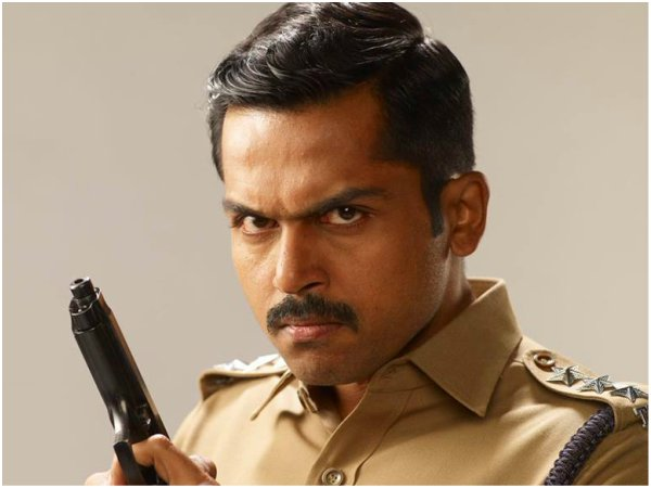 Karthi As Theeran Thirumaran