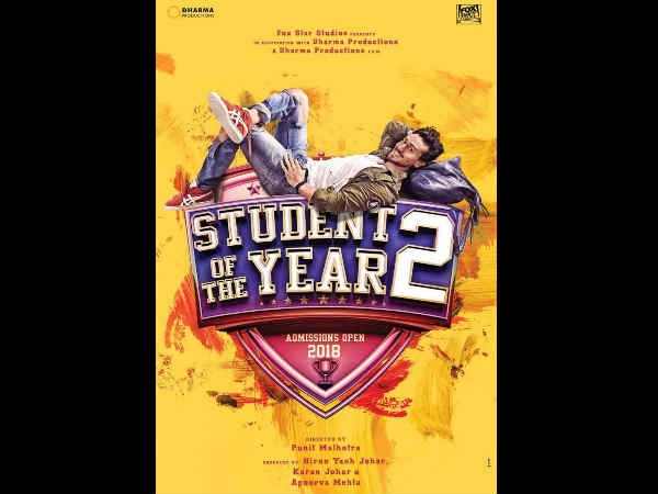 Student of the Year 2 | Poster | Tiger Shroff