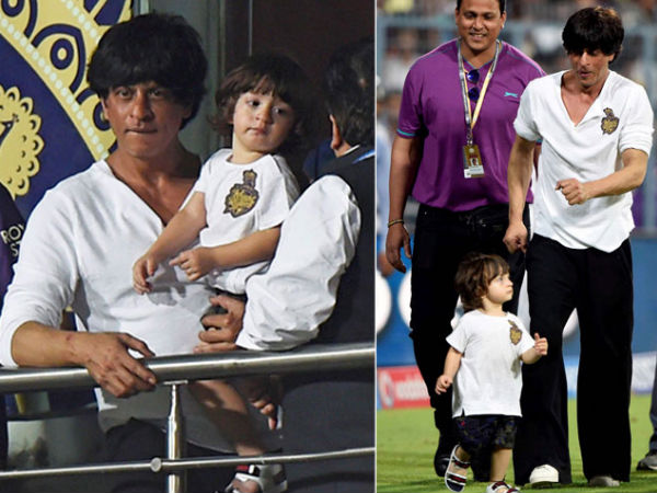 AbRam Brings Out The 'Kid' In SRK