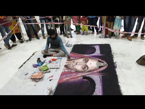 Desecration Of Rangoli