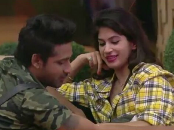 Puneesh Tries To Convince Bandgi For A Quickie!