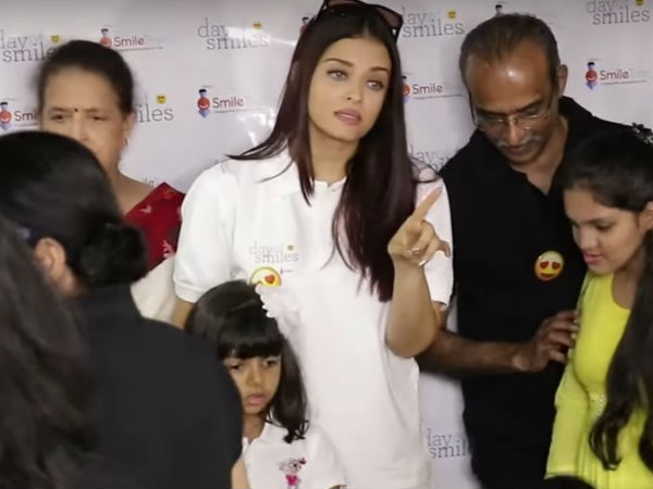 Aishwarya Insisted The Reporters To Not Shout