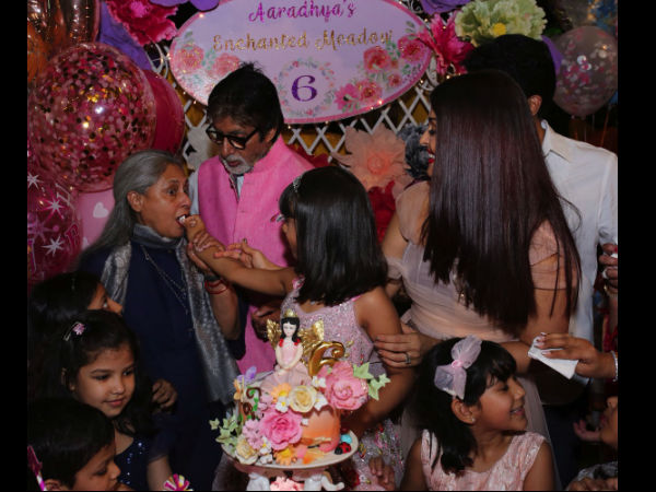 More Pictures From Aaradhya's Birthday Party