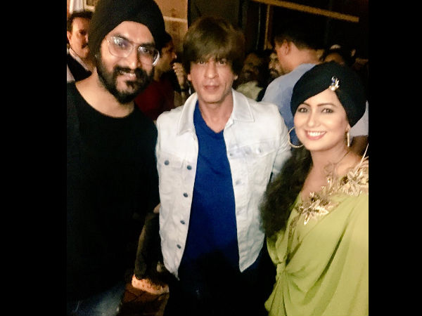 SRK With Harshdeep kaur