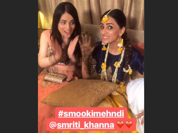 Smriti With Radhika Madan
