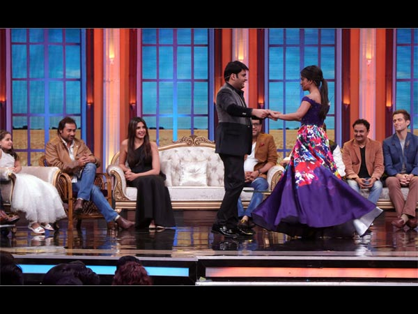 Kapil On Special Episode 'Oye Firangi'