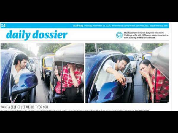Varun Dhawan apologizes to Mumbai police for violating traffic rules