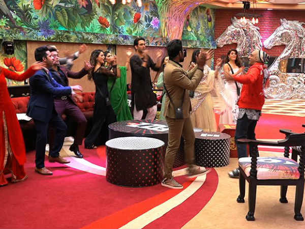Housemates Dance With Remo & Jacqueline