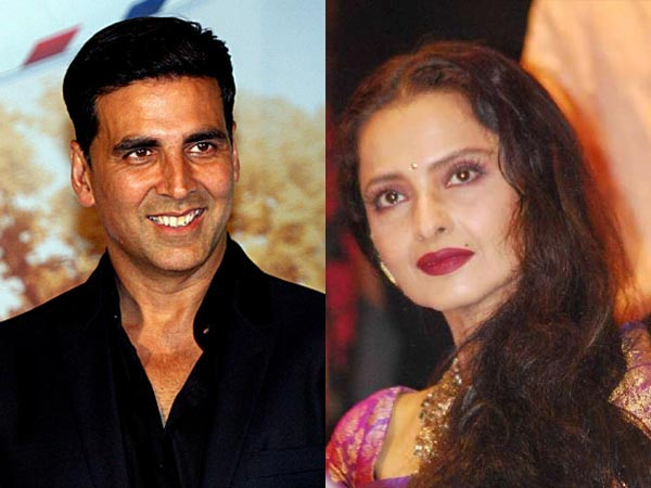 Akshay Would Run Away From Rekha