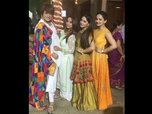 Adaa, Rohit, Gia and Mahi