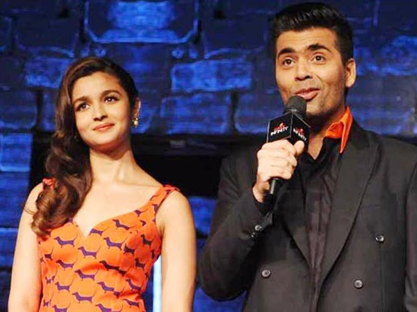 Karan Tried To Convince Alia