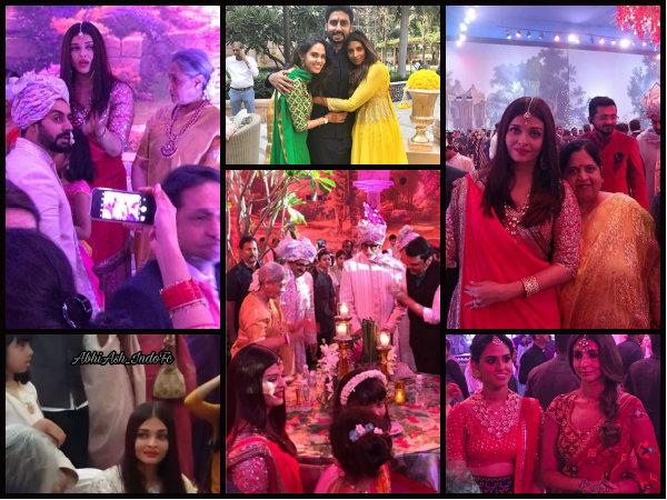 INSIDE PICS & VIDEO! Aishwarya Rai Bachchan & Jaya Bachchan Are All SMILES, Aaradhya Caught DANCING!
