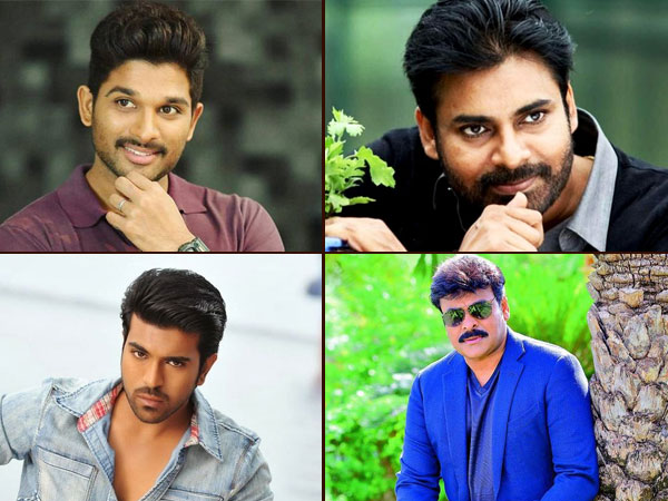 MEGA NEWS! Allu Arjun's Insta Debut, Updates On PSPK25, Sye Raa Narasimha Reddy & Other Mega Movies