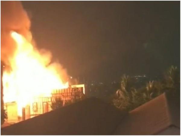 SHOCKING! Fire Ravages Akkineni Nagarjuna's Annapurna Studios!
