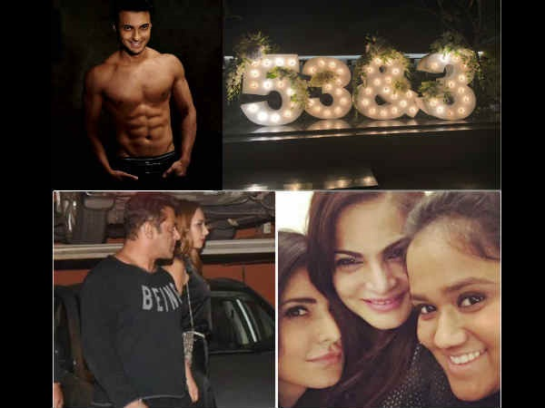 INSIDE PICS! Salman Khan's Brother-In-Law Aayush Sharma Throws A Party For Double Celebration