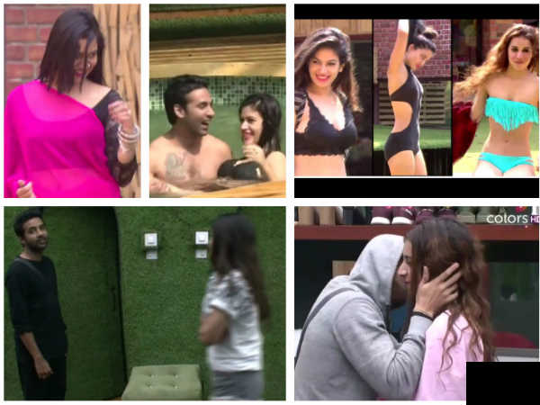 BB 11 Highlights: Bandgi-Puneesh's Pool Romance; Akash Irks Vikas; Ben Wants Priyank To Confess…