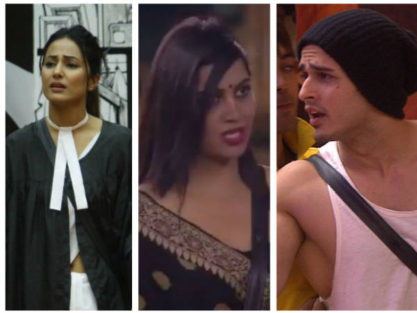 Bigg Boss 11 Courtroom Drama: Celebs & Fans React; Hina Khan & Priyank Sharma Receive Major Flak