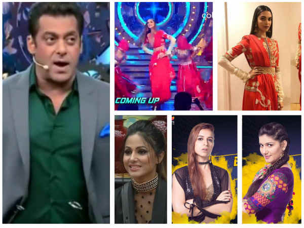 Bigg Boss 11: Deepika Padukone Grooves For 'Ghoomar'; Ben Or Sapna – Here's Who's Getting Evicted...