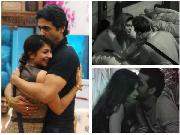 Puneesh-Bandgi, Gautam-Diandra, Karishma-Upen…8 Contestants Who Got Intimate In The Bigg Boss House!