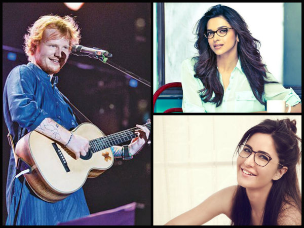 Deepika Padukone & Katrina Kaif To Party With Ed Sheeran; A Bash At Ambani Mansion Awaits