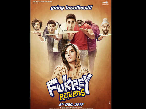 Fukrey Returns Goes Back To Its Original Release Date, Check Out The New Poster!