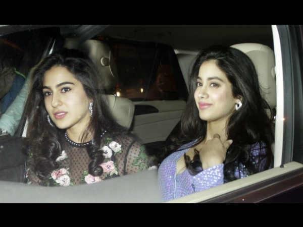 OHGOSH! Has JanhviKapoor'sBollywood Debut Left Sara Ali Khan STRESSED?