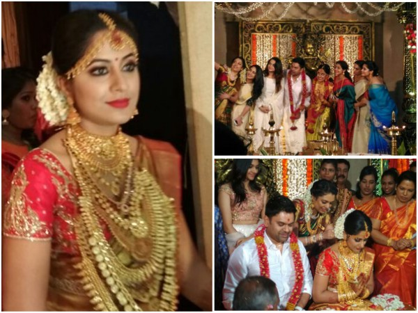 Jyothi Krishna's Wedding: Mollywood Celebrities Attend The Event