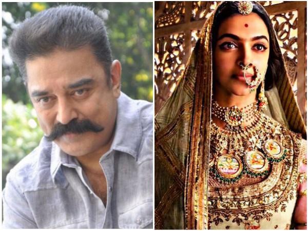 Kamal Haasan Vouches His Support For Deepika Padukone In Padmavati Row!