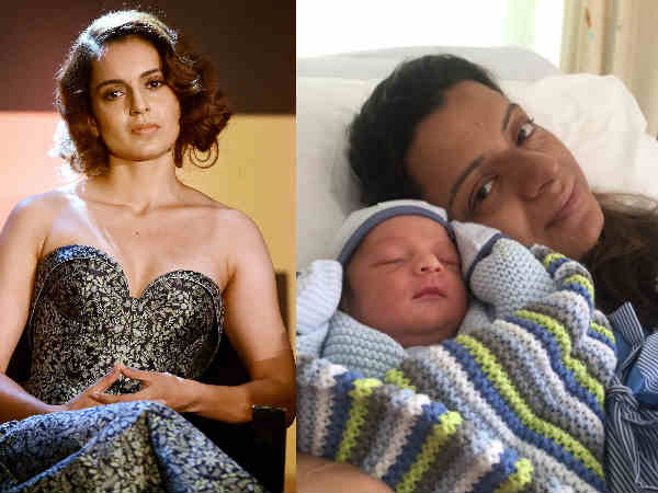SEE PICS! Kangana Ranaut's Sister Rangoli Chandel Is Now A Proud Mommy To A Baby Boy