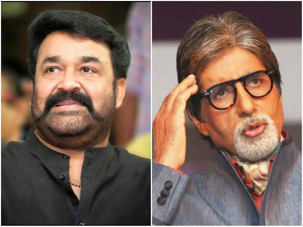 WOW! Mohanlal & Amitabh Bachchan To Be A Part Of A Multilingual?