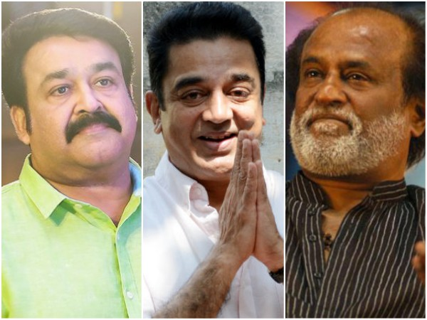 Mohanlal, Rajinikanth And Kamal Haasan To Come Together?