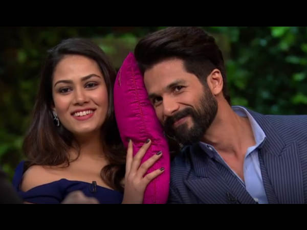IT'S FOR HER TO DECIDE! Shahid Kapoor Reacts To Reports About Him Doing A Film With His Wife Mira