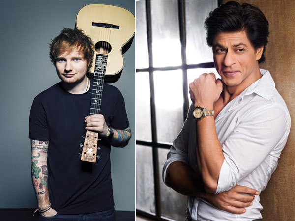 Would Love To Do Something In Bollywood With SRK: Ed Sheeran