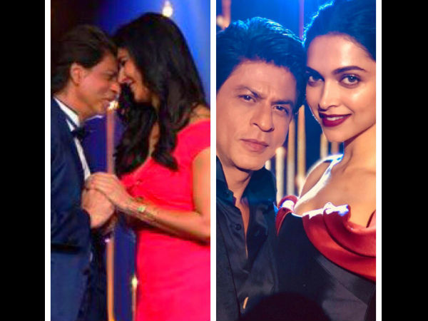 Unmissable! Shahrukh Khan Shares A Picture With Deepika Padukone & Katrina Kaif!
