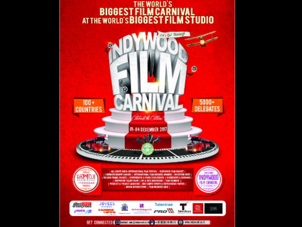 Hyderabad To Host Third Edition Of Indywood Film Carnival  From Dec 1