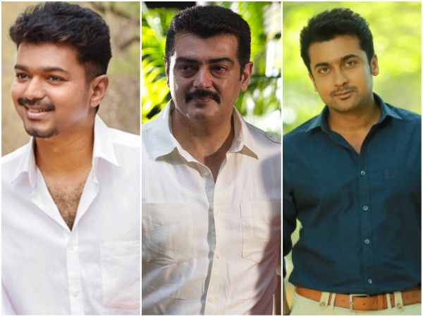Will Vijay, Ajith And Suriya Battle At The Box Office?