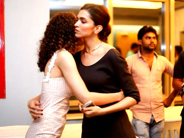 Kangana refuses to support Deepika Padukone