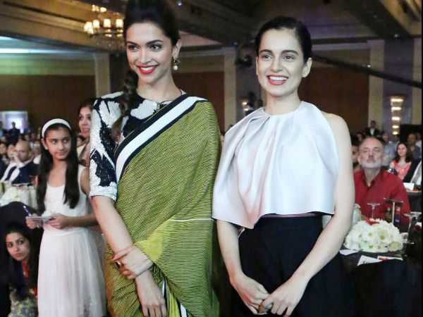 Absolutely handsome! Rekha gifts Deepika a saree and people can't stop gushing