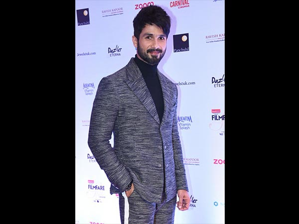 When Shahid Arrived At The Red Carpet